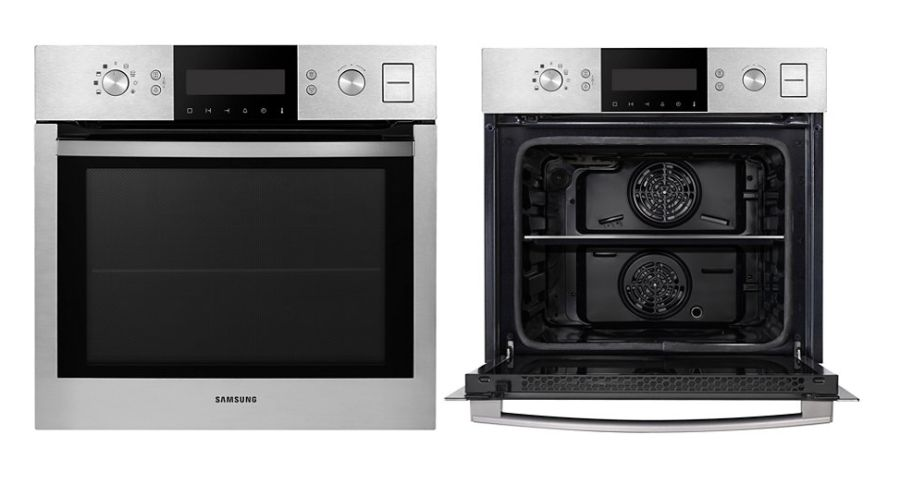 samsung 60cm twin convection steam electric oven multi. Black Bedroom Furniture Sets. Home Design Ideas