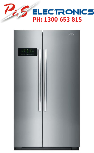 Counter Depth Fridge Dimensions Brand new Whirlpool Side By Side Fridge Silver 623L_Model ...
