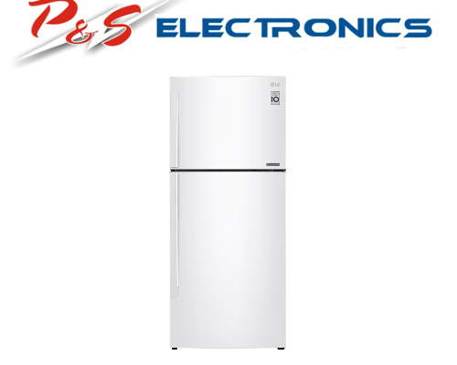 LG 441L Top Mount Refrigerator with Door Cooling+™ GT-442WDC