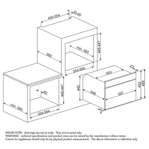 SFA4395VCX1 Dimension