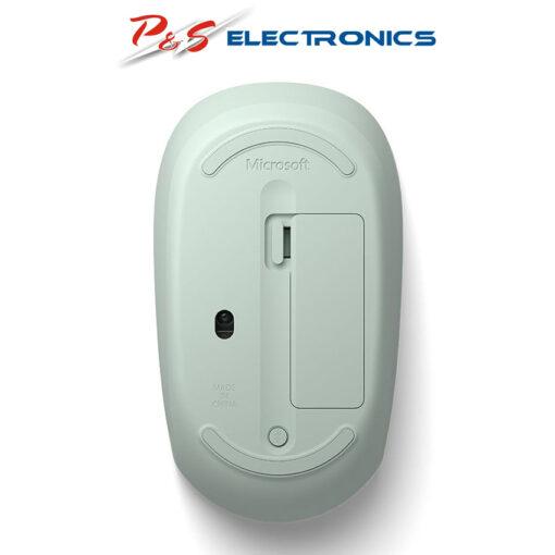51937 mat day cua chuot khong day microsoft bluetooth mouse rjn 00029 mau bac ha