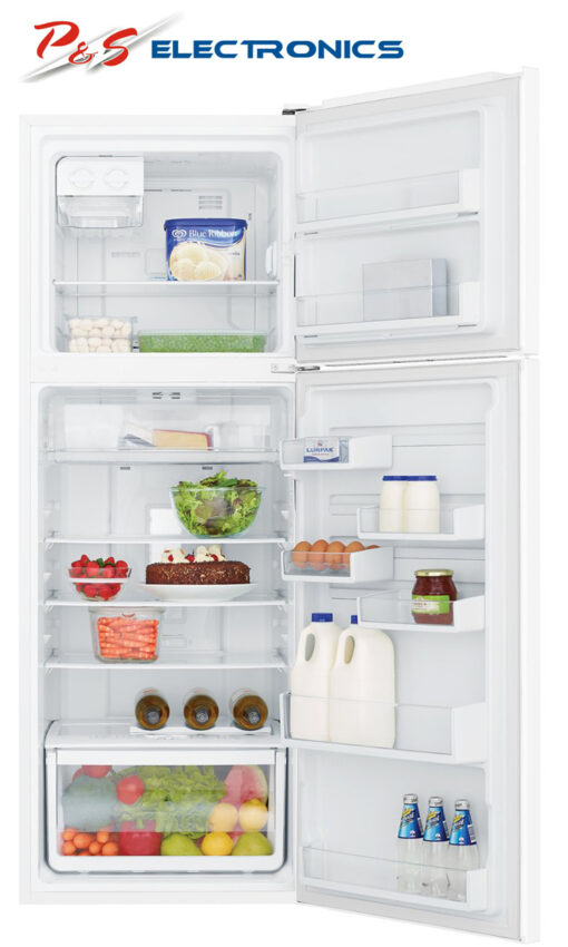 Westinghouse WTB3400WG 340L Top Mount Fridge Open high