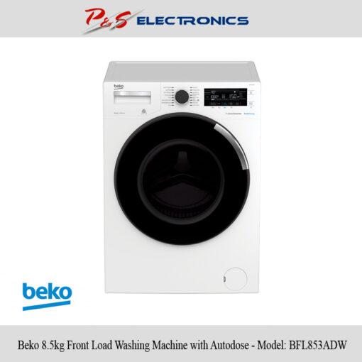 Beko BFL853ADW 85kg Front Load Washing Machine with Autodose Hero1 high
