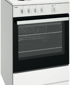 Chef CFE532WB 54cm Freestanding Electric OvenStove Hero Image high