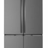 Westinghouse 600L Dark Stainless Steel French Door Fridge WQE6000BB hero high