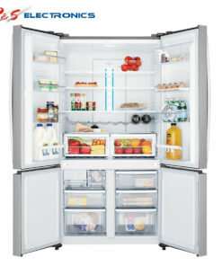 Westinghouse WQE6000SA 600L French Door Fridge open2 high