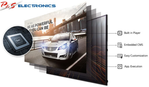 "LG 75UH5C-B 75"" (189cm) Ultra HD IPS Digital Signage Display TV"
