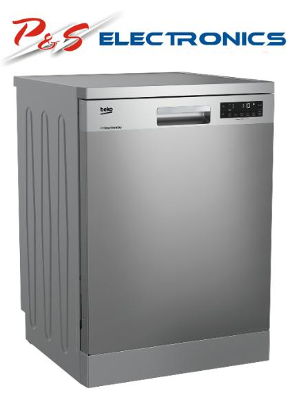 Beko BDF1620X 16 Place Setting Free Standing Dishwasher (Stainless Steel)