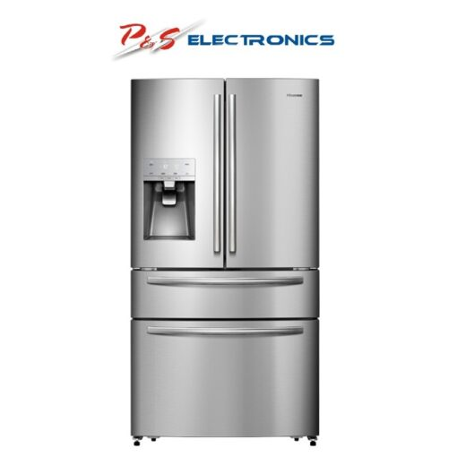 Hisense HR6FDFF701SW 701L Stainless French Door Fridge - Factory Seconds 2nd
