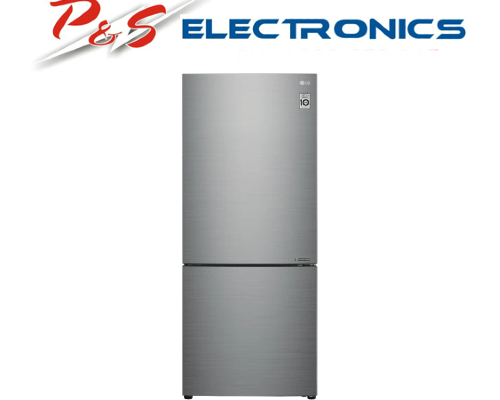 LG 454L Bottom Freezer Stainless Steel GB-455PL