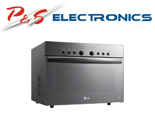 LG 38L Mirror Glass SolarDOM Oven with Infraspeed Heater_MA3884NGR