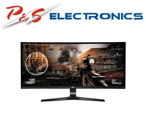 "LG 34UC79G-B 34"" Curved Ultrawide UWHD 144Hz FreeSync IPS LED Monitor"