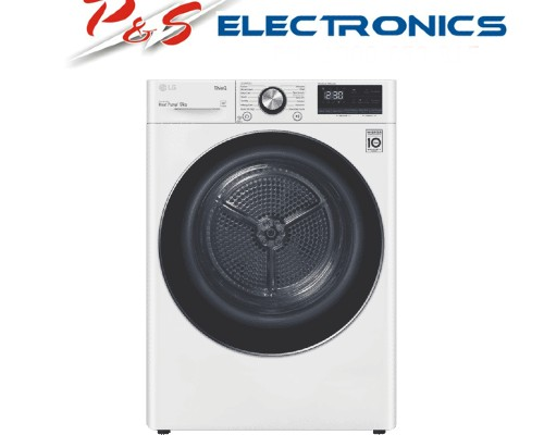 LG 9kg Heat Pump Dryer with Inverter Control - White_DVH9-09W