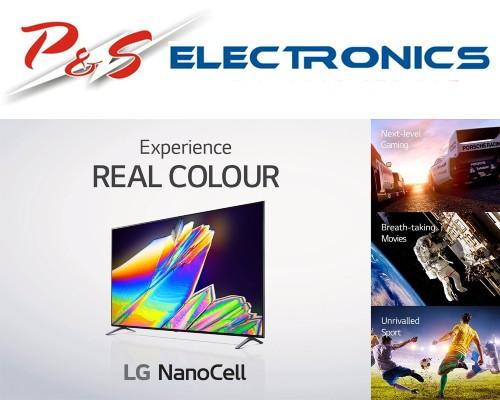 LG 75-inch Nano85 4K NanoCell AI ThinQ Smart TV_75NANO85TNA, Carton Damaged