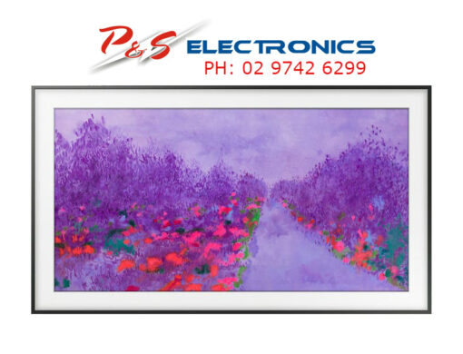 "SAMSUNG The Frame 55"" Premium 4K Smart TV_ UA55LS03NAW"