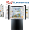 LG GF-6D725BGL 725L Black French Dual Door in door fridge