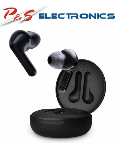 LG TONE Free True Wireless Bluetooth In-Ear Headphones with Mic/Remote, Black_HBS-FN4