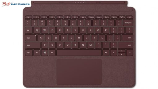 Microsoft Surface Go Signature Type Cover (Burgundy)_KCW-00055