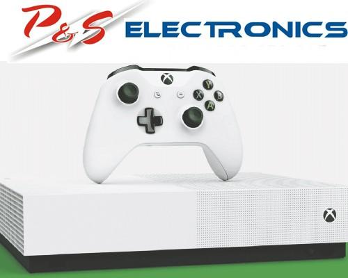 Genuine Microsoft Xbox One One S All-Digital 1TB Console_NJP-00071