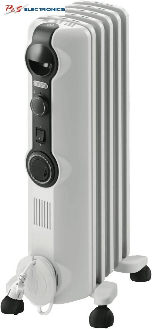DeLonghi 1000W Radia S Oil Column Heater w/Timer_ TRRS0510T
