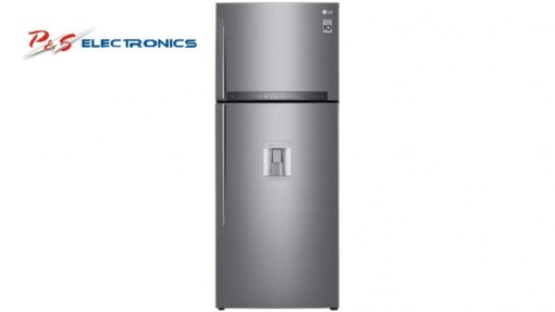 LG 471L Top Mount Fridge with Automatic Ice Maker_GT-L471PDC
