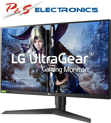 "LG 27GL83A-B 27"" Class UltraGear™ Nano IPS Gaming Monitor w/G-Sync"