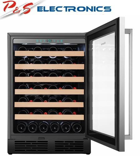 Hisense 54 Bottle Single Zone Wine Cabinet_HRWC54