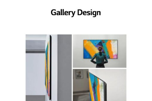NEW LG G1 65 inch with Gallery Design 4K Smart Self-Lit OLED evo TV w/ AI ThinQ®_OLED65G1PTA