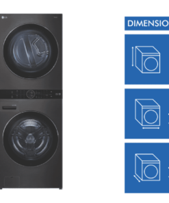 NEW LG WashTower 17kg-10kg Combo Washer Dryer-WWT-1710B